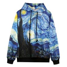Van Gogh Hooded Sweatshirt