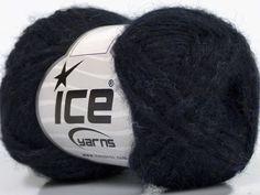 Fiber Content 70% Royal Baby Alpaca 20% Nylon 10% Merino Wool Navy Brand Ice Yarns fnt2-44570