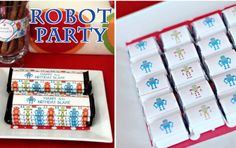 Boy Party ideas with Free Printables.