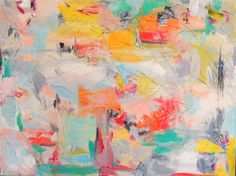 Art Original Abstract Painting Abstract Art by WReynoldsOrr, $185.00