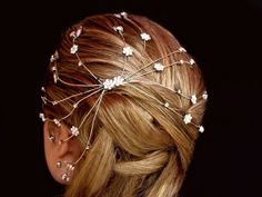 Wedding Headpiece Silverplated with by AddSomeCharmBoutique, $115.00