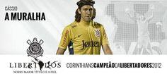Cássio (goalkeeper) - Sport Club Corinthians Paulista - Copa Santander Libertadores Champion 2012