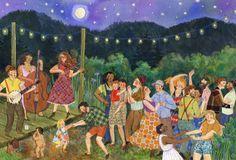 "-- PHOEBE WAHL --: ""Moon Dance"""