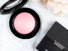 MAC Monday & Mineralize Blush Just a Wisp – loveliness.pl
