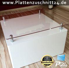 Tischplatte mit PLEXIGLAS®