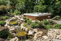 Pondless Stream with Waterfalls: