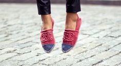 want these Chanel espadrillos.