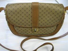 Vintage Paolo Gucci Authentic Cross Body Signature by CLASSYBAG
