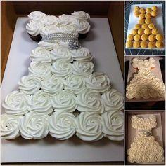 Γλυκές Τρέλες: Πως κάνουμε την Τούρτα Φόρεμα με cupcakes και την πιο εύκολη βουτυρόκρεμα με ζαχαρούχο!