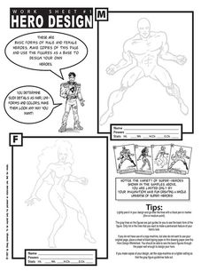Free Comic/Craft/Puzzle Work Sheets