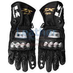 Racing Gloves | Buy Kawasaki Ninja Racing Gloves - https://www.leathercollection.us/en-we/kawasaki-ninja-racing-gloves.html