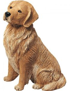 Golden Retriever Dog Statue Sculpture Figurine Available At  AllSculptures.com