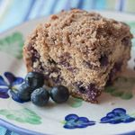 Whole Wheat Blueberry Buckle - Andrea Meyers