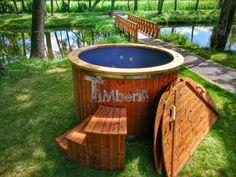 Hot tub vetroresina Deluxe - TimberIN