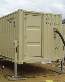 Container House - HETEK - ISO-container and structures - Who Else Wants Simple Step-By-Step Plans To Design And Build A Container Home From Scratch? Iso Container, Container Cafe, Container Office, Cargo Container Homes, Building A Container Home, Storage Container Homes, Container House Plans, Moving Containers, Sea Containers