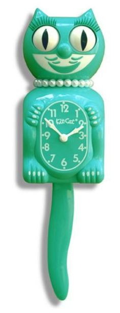 Kit-Cat Clocks have been around for over 80 years, becoming an indelible part of American history with their happy and catchy look. Kit-Cat Clocks have been American made since their inception. These