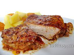 Friptura de porc la cuptor Crockpot Recipes, Cooking Recipes, Romanian Food, Romanian Recipes, Lasagna, Food And Drink, Breakfast, Ethnic Recipes, Martha Stewart