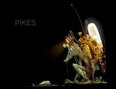 PIKES, Dmitry Khokhlov on ArtStation at https://www.artstation.com/artwork/Dzg4G