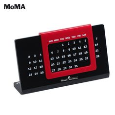 Welcome new employees with a MoMA Sliding Perpetual Calendar.