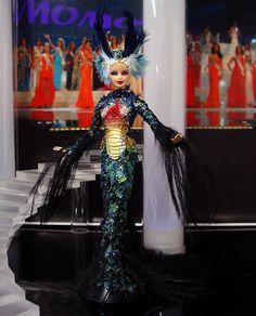 Miss France 2013/14 by Ninimomo Dolls