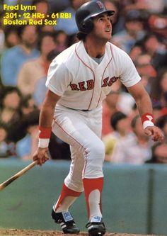 Fred Lynn - Boston Red Sox