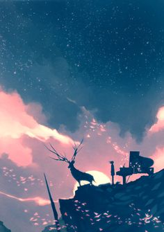 Image discovered by Shinta Cantika. Find images and videos about art, draw and piano on We Heart It - the app to get lost in what you love. Fantasy Landscape, Fantasy Art, Wallpaper Animes, Kunst Online, Illustration Art, Illustrations, Art Graphique, Anime Scenery, Pretty Art
