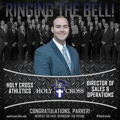 Parker Hansen ('15) - Director of Ticket Sales & Operations, Holy Cross Athletics