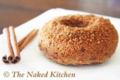Apple Cinnamon Donuts (Click Pic for Recipe) I completely swear by CLEAN eating!!  To INSANITY and back....  One Girls Journey to Fitness, Health, & Self Discovery.... http://mmorris.webs.com/