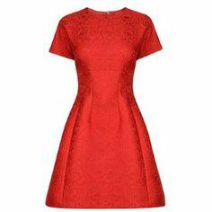 D&G Jacquard A Line Dress