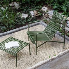 Order your Palissade Lounge Chair High. An original design by Ronan and Erwan Bouroullec, this outdoor lounge chair is manufactured by HAY. Outdoor Lounge, Outdoor Seating, Outdoor Spaces, Outdoor Living, Outdoor Decor, Outdoor Armchair, Metal Lawn Chairs, Metal Outdoor Chairs, Outdoor Furniture Design