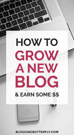 Blogging Tips for Beginners: Grow your blog and set it up to start earning money. Don't wait! Start now so you don't miss out on opportunities down the line. Read this and other start-a-blog tips: https://bloggingbutterfly.com/grow-your-blog-make-money/?utm_source=pinterest&utm_campaign=grow_blog_make_money&utm_medium=blog&utm_content=image7