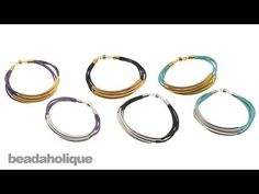 Instructions for Making the Noodle Bead Bracelet Kit - YouTube