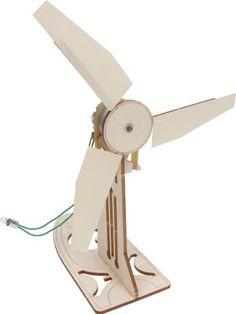Pitsco Laser-Cut Basswood Wind Generator Kit - http://clean-energy-now.com/pitsco-laser-cut-basswood-wind-generator-kit/