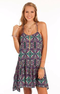 LOVE! This dress is super cute for this summer! Find it at Too Blue Boutique!