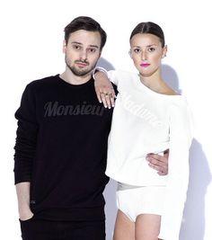 MONSIEUR sweatshirt black