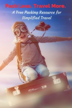 Travel with kids just got easier! Sign-Up for travel tips to pack light, tight and like a pro!