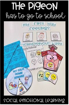 Are you looking for a fun interactive back to school activity? Your students will LOVE this social emotional resource that goes perfectly with The Pigeon Has To Go To School! Click through to see more!
