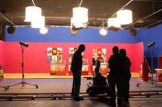 Shooting in Banzai Studio of the spot of Carte D'Or.  Rodaje en Banzai Studio del spot de Carte D'Or.  http://www.banzaistudio.tv