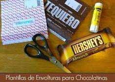 Resultado de imagen para envolturas para chocolates personalizados gratis