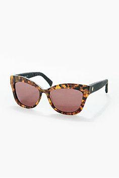 House of Harlow Linsey Sunglasses in Tortoiseshell