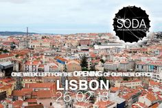 One week for the#openingof#SODAnew office in#Lisbon#MarquesdePombal