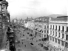 Marc Ferrez - Avenida Central - 1907 (atual Av. Rio Branco)