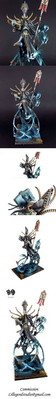 Nagash Supreme Lord of Undeath. This thing is amazing and i just want to paint it. Now.