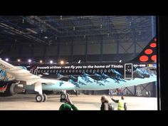 Tintin - Brussels Airlines