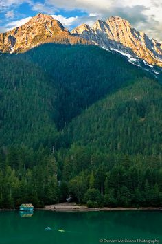 Rush Hour - Diablo Lake  North Cascades - Washington State