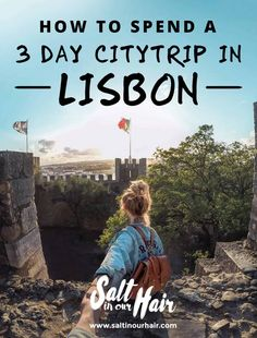 Things to do in Lisbon: How to spend a city trip Visiting Lisbon and looking for things to do in and around Lisbon? This Lisbon city trip guide helps you to perfectly fill your days when you're in Lisbon. Algarve, Visit Portugal, Spain And Portugal, Week End En Europe, Places To Travel, Travel Destinations, Portugal Travel Guide, Portugal Trip, Week End En Amoureux