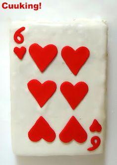 "Tarta ""Carta de Poker"" (Vainilla y chocolate) II"