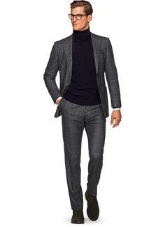 Suit Grey Check Havana P5254   Suitsupply Online Store