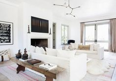 How to layer rugs in your living room