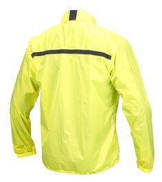 ULTRALIGHT RAIN JACKET RAIN FLUO -  HRJ108 - WATERPROOF CLOTHING - Hevik